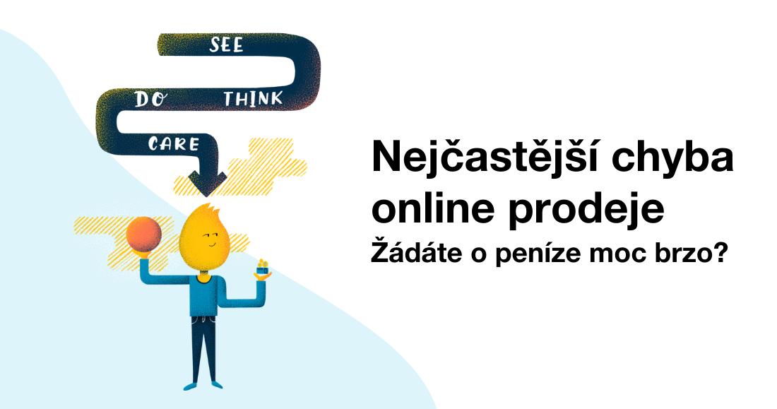 Nejčastější chyba online prodeje